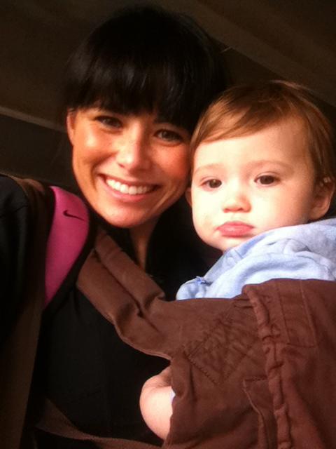 Me and baby Kai